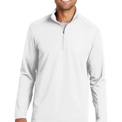 Mens Pinpoint Mesh Pullover